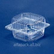 Пластикова упаковка АЛЬФА-ПАК ПС-8 прозрачная фото