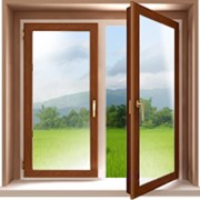 Деревянные окна фото