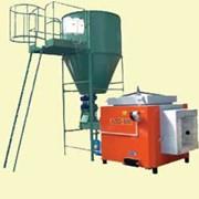 Система AZSD автоматизированая сжигания раздробленой древесины. фото