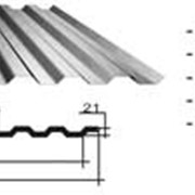 Профнастил марок С10, С21, С44, Н60, Н75 оцинкованный и с полимерным покрытием фото