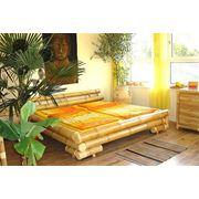 """""""Мун"""" кровать из бамбука фото"""