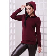 Женское стильное худи с капюшоном и молниями, в расцветках фото