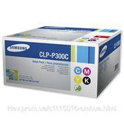 Samsung Картридж Samsung CLP-300/ 300N/ CLX-2160/ 2160N 3160N/ 3160FN Bundle (C M Y K) (CLP-P300C/ELS) фото