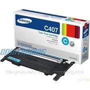 Картридж SAMSUNG CLP-320/320N/325/CLX-3185 cyan (CLT-C407S) фото