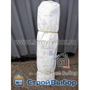 Тент тарпаулин 120г/м2 белый с люверсами 2,6х50 фото