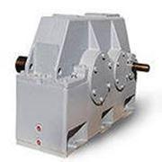 Редукторы зубчатые цилиндрические двухступенчатые горизонтальные Ц2У-400Н-25 фото