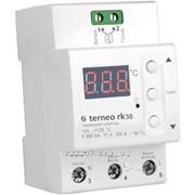 Терморегулятор Terneo rk30 фото