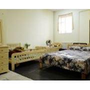 Спальня из массива сосны фото