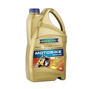 Масло мотоциклетное Ravenol Motobike 4-T Mineral 15w40 1l., 4л фото