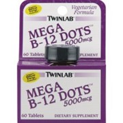 Антиоксидант TWINLAB mega b-12 dots 5000 mg 30 tab фото