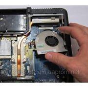 Очистка сиситемы охлаждения ноутбука фото