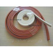 Уплотнитель силиконовый 15х15мм (до +300гр.С) фото