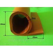Уплотнитель термостойкий Р-образный 30мм фото