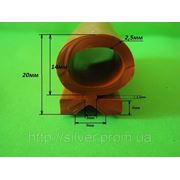 Уплотнитель термостойкий силиконовый. Жаростойкий профиль фото