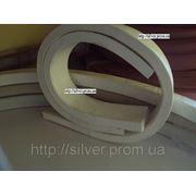 Полоса из силиконовой резины 10х30мм фото