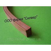 Шнур резиновый силиконовый 8х10мм фото