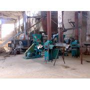 Линия по производству топливных брикетов фото