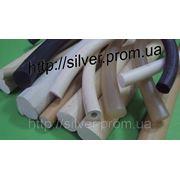 Шнуры из силиконовой резины д.14мм.Изделия из силикона. фото