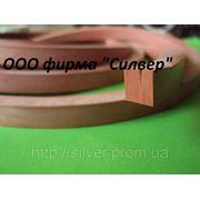 Шнуры из силиконовой резины 5х8мм фото