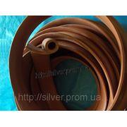 Уплотнительный термостойкий силиконовый профиль фото