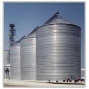 Силосы для хранения зерна с плоским днищем BEHLEN зернохранилища фото
