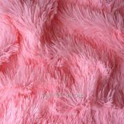 Мех для игрушек - травка, цвет розовый. МИ 03 фото