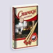 Спички сувенирные газовые средней длины, 30 шт*300 коробков фото