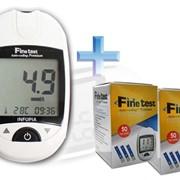 Глюкометр Finetest Premium (Файнтест Премиум) + 100 тест-полосок фото