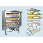 Подовая хлебопекарная печь JEREMY HELIOS электрическая фото