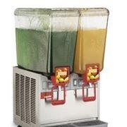 Охладитель сока с фонтаном. фото