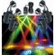 Звуковое и осветительное оборудование фото