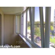 Балконная рама 1700*6000 фото