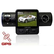 Видеорегистратор X6000 с GPS модулем (Две камеры) фото