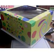 Коробки под торты . фото