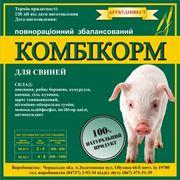 Комбикорм для свиней от производителя высшего качества. Продажи по Украине. фото