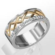 Кольца с бриллиантами M31704-1 фото