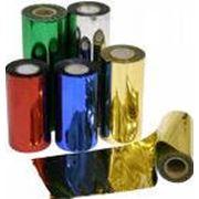 Фольга для горячего тиснения ТР40 золото/ серебро глянец/ мат весь спектр цветов фото