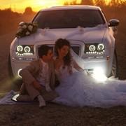 Аренда автомобилей на свадьбу, свадебный кортеж. фото