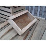 Ящик деревянный под рыбу 10 кг. фото