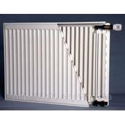Радиатор стальной Termal (Турция), 500 * 500 мм, 22 тип, боковое подключение фото