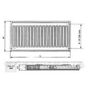 Радиатор KINGRAD RK тип 11 500 x 600 фото