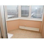 Можно ли балкон сделать теплым? Отопление балкона, лоджии фото