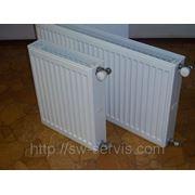 Стальные радиаторы PURMO С22 600х600мм (боковое подключение) фото
