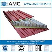Кровельная сэндвич-панель МВУ 80мм АМК-СПКР-МВУ фото