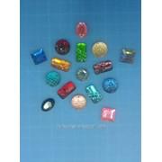 Стразы пришивные пластик d 12мм фото