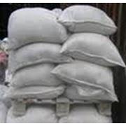 Мел молотый в мешках по 30- 35 кг. фото