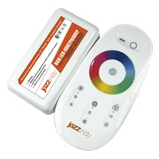 Контроллер RGB PRC-4000HF WH (белый) 12/24V 216/432Вт фото
