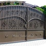 Кованые ворота VR-04 фото