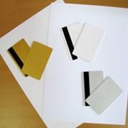 Пластик ПВХ для струйной печати: белый, серебряный, перламутровый, золотой, прозрачный фото