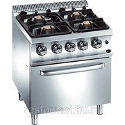Плита газовая Apach Chef Line GLRRG77FG фото